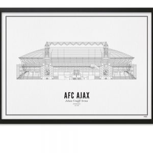 Voetbalstadions in elegant WIJCK. design
